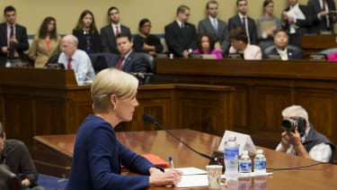 Cecile Roberts testifies on Capital Hill.