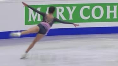 Russian skater Evgenia Medvedeva.