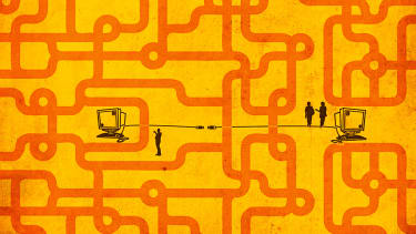 Internet access is just as important as road access.