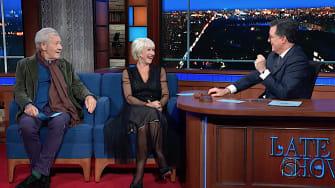 Helen Mirren and Ian McKellen do Trump