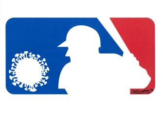 Editorial Cartoon U.S. MLB coronavirus