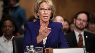 Betsy DeVos testifies at Senate confirmation hearing