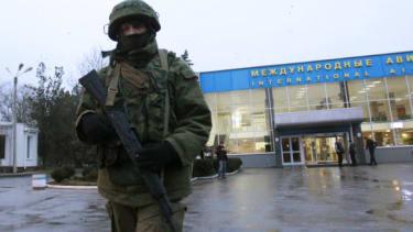 Gunmen in Ukraine