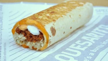 Taco Bell is adding a 'quesarito' to its menu
