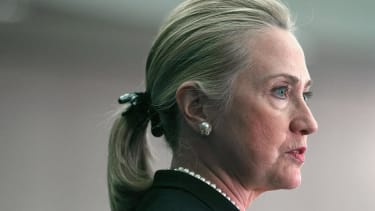 Hillary Clinton jokes she considered calling her memoir The Scrunchie Chronicles
