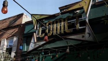 The Comet pizzeria.