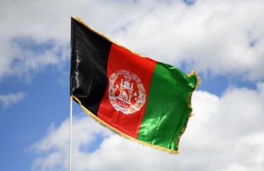 Afghanistan flag.
