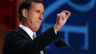 Rick Santorum: Rand Paul is a flip-flopping isolationist