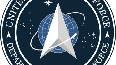 Space Force logo.