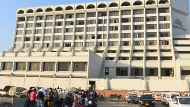 The Regent Plaza in Karachi, Pakistan.