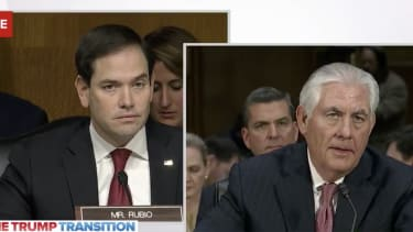Marco Rubio and Rex Tillerson.