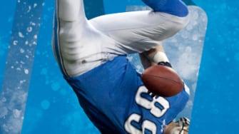 A Lions receiver.