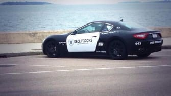 Maserati's unusual paint job lands driver in hot water