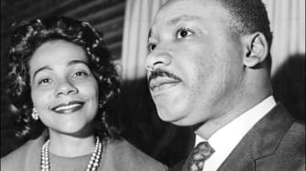 Coretta Scott King and Dr. Martin Luther King Jr.