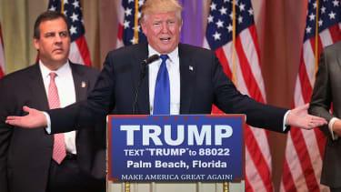 Chris Christie's sad face trumped Trump's victory speech