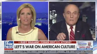 Rudy Giuliani and Laura Ingraham.