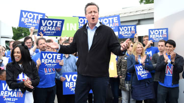 Prime Minister David Cameron support the idea of remaining in the Union.
