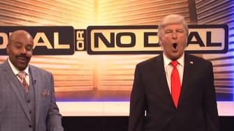 Alec Baldwin as President Trump on SNL