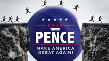What role does Mike Pence serve in this election?