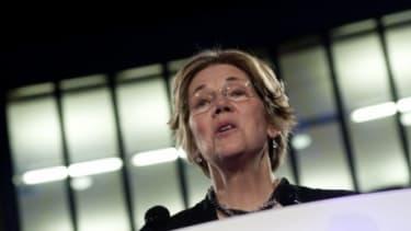 Massachusetts Senate hopeful Elizabeth Warren (D)