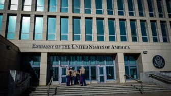 The U.S. Embassy in Havana.