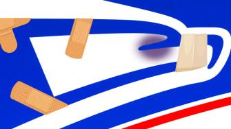 The USPS logo.