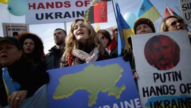 77 percent of Ukrainians oppose secession