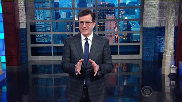 Stephen Colbert on the Trump Russia dossier author