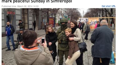 Russian news site: The invasion of Ukraine is all 'tea, sandwiches, music'