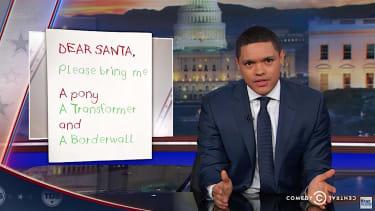 The Daily Show Trevor Noah weeds through Trump executive orders