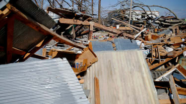 Damage from a tornado in Missouri in March.