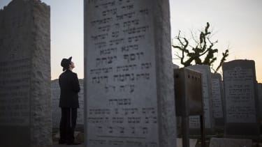 Crowdfunding is halfway complete to restore a vandalized Jewish cemetery.
