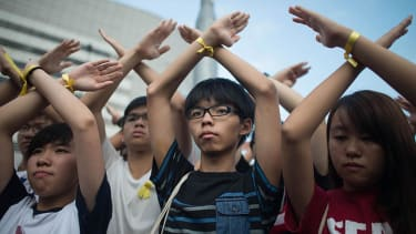 Hong Kong's protest leaders are going on a hunger strike