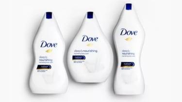 Dove body wash.