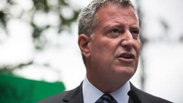 NYC Mayor Bill de Blasio has changed his tune about Eric Garner since summer