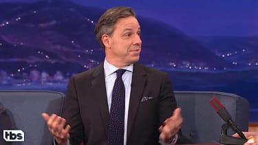 Jake Tapper talks Michael Flynn with Conan OBrien