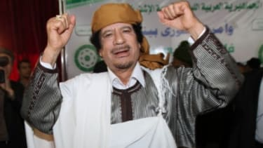 "U.S. intelligence predicts Libyan leader Moammar Gadhafi's regime ""will prevail"" in the long run."