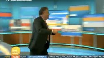 Piers Morgan storms off set