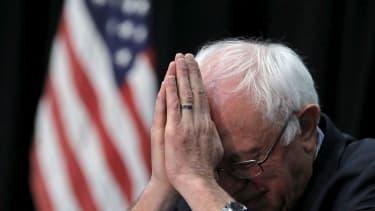 Bernie Sanders at the Faith Leaders Prayer Breakfast