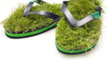 Feel the turf between your toes