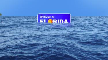 Florida underwater.