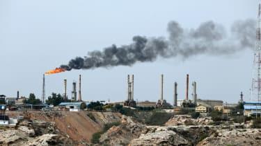 An oil facility in Iran.