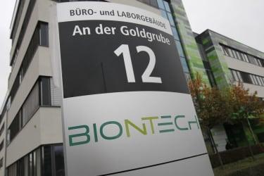 BioNTech headquarters.