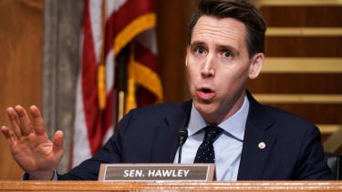 Sen. Josh Hawley.