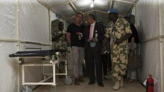 A hospital in Timbuktu.