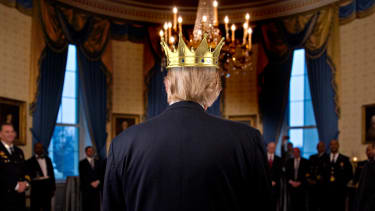 President Trump is no king.