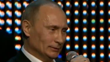 "Vladimir Putin: Crooner or just ""plain weird""?"