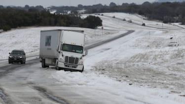 Texas snowstorm.
