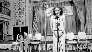 Peg McCarthy, winner of the 51st National Spelling Bee.