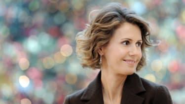 Asma al-Assad.